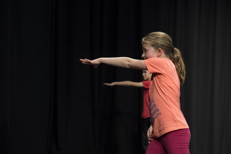 Dancers go green at Barbican Theatre